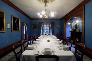 Riccarton house dining room