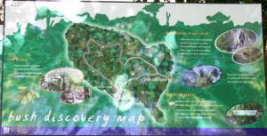 Riccarton Bush walking map