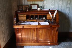 Jane Dean's desk